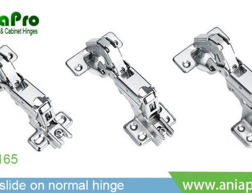wide angle open 165 degree concealed cabinet door hinge