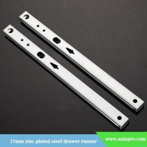 17mm-zinc-plated-iron-drawer-runner