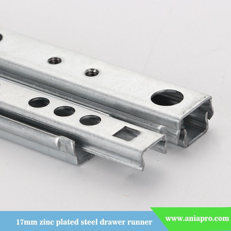 17mm-zinc-plated-steel-drawer-slide