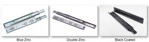 Surface Treatment: Blue Zinc/Double Zinc/Black Coated