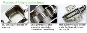 Features of aniapro Cabinet hinge