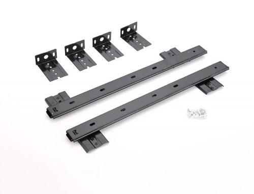 27mm 2 fold slide rail for computer keyboard