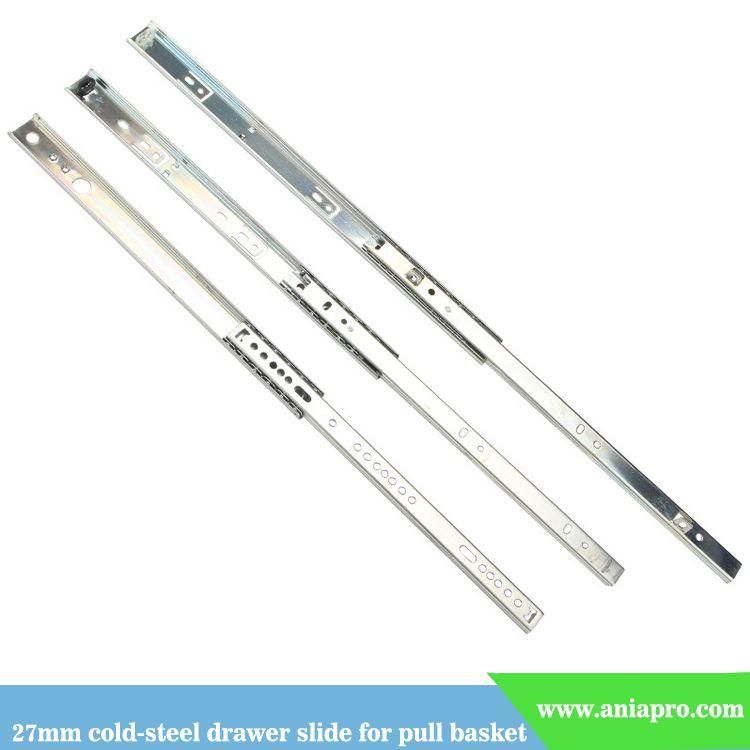 27mm-cold-steel-drawer-slide-for-pull-basket