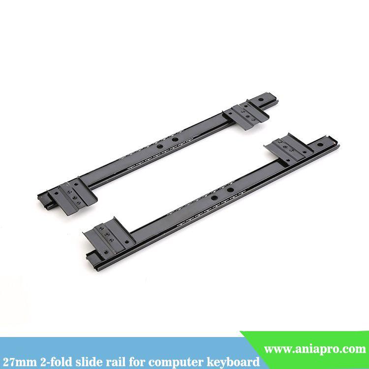 27mm-computer-keyboard-slide-rail-2-fold