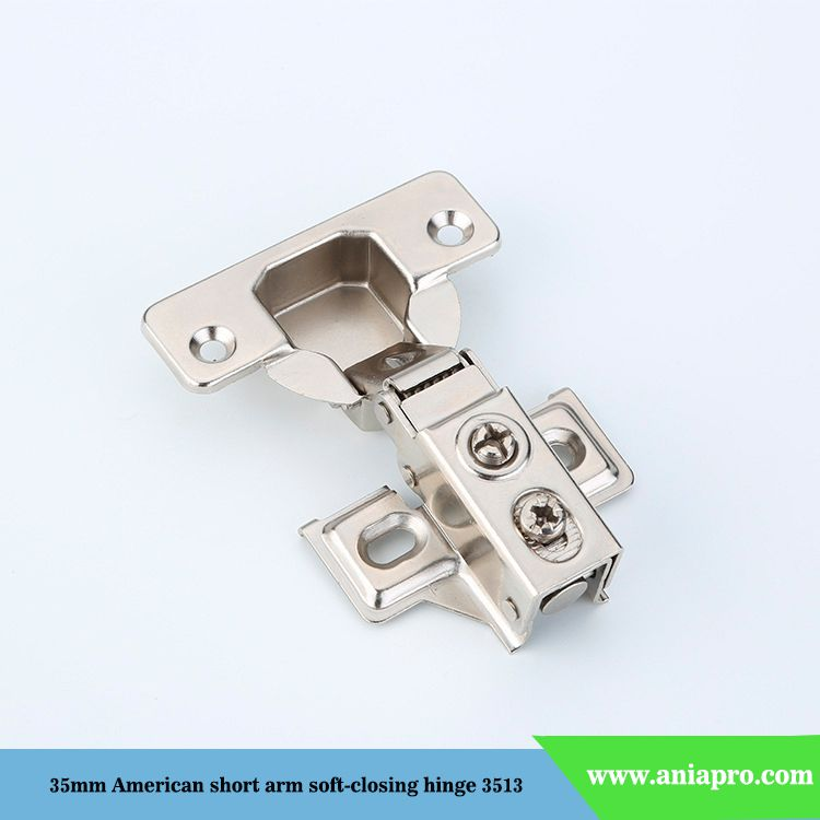 35mm-American-short-arm-soft-closing-hinge-with-face-frame-plate