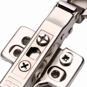 A3567 clip on soft close 3D plate hinge