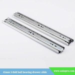 45mm-3-fold-ball-bearing-drawer-slide