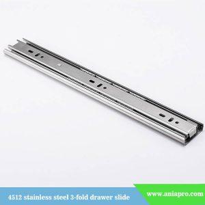 45mm-stainless-steel-3-fold-ball-bearing-slide-rail