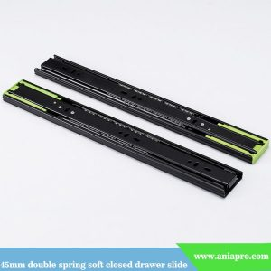 45mm-width-double-spring-soft-closing-drawer-slide-factory
