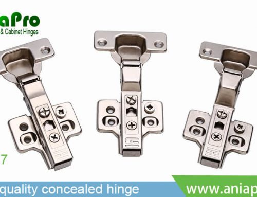 A3567 clip on soft close 3D hinge