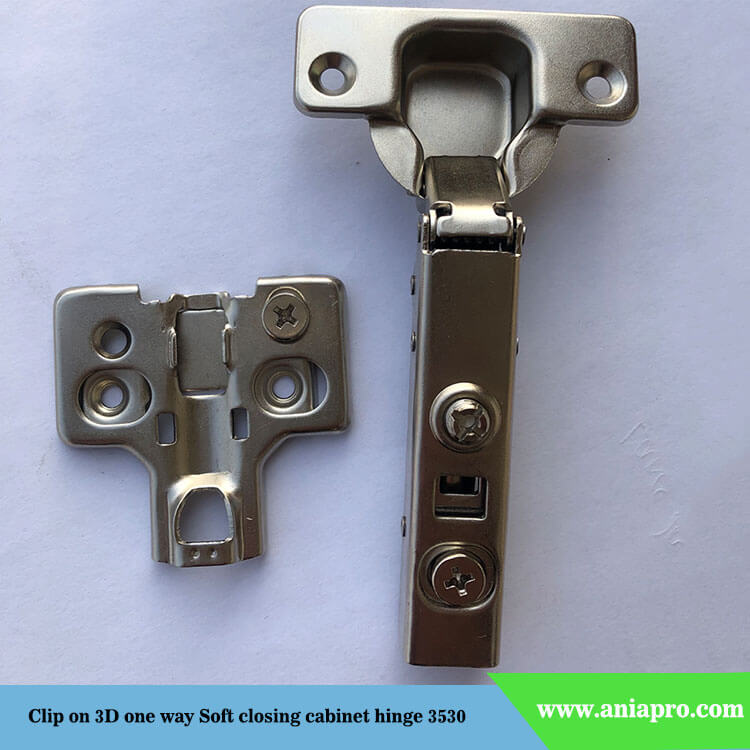 Clip-on-3D-one-way-3D-soft-closing-hinge