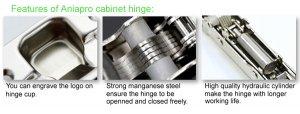 Clip-on-hydraulic-hinge/soft close hinge