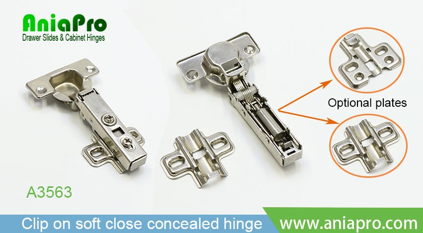 clip on soft close hinges for kitchen cabinets drawer slide and hinge manufacturer from jieyang city 13652