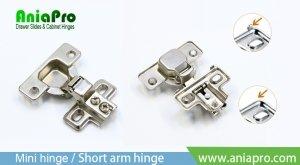 American mini hinge short arm hinge factory